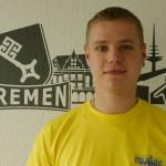Marek Czisch, nach der Ausbildung weiterhin dabei.
